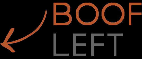 Boof Left Logo